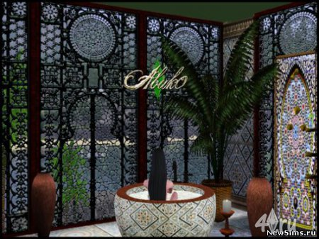 Окна для дворца султана от Abuk0 для Симс 3 в формате sims3pack