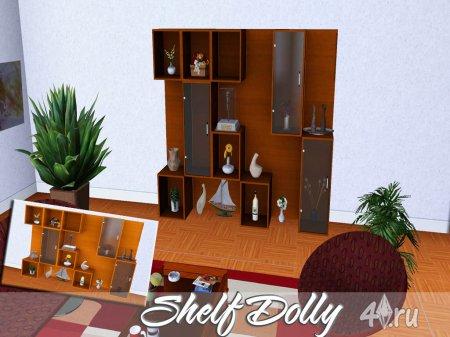 "Полки ""Долли"" от bobo для Симс 3 в формате package"