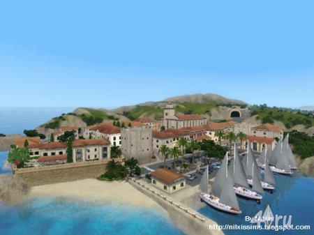 Город Plav Raj от Nilxis для Симс 3 в формате sims3pack
