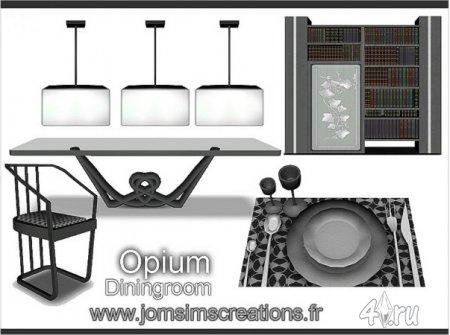 Столовая Opium от JomSims для Симс 3