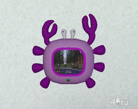 Сет компьютеров и телевизоров для детей от Angel для Симс 3 в формате sims3pack