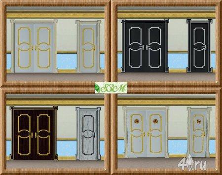 Двери от Simmami для Симс 3 в формате sims3pack