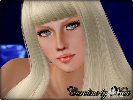 Кэролайн от Нави для Симс3