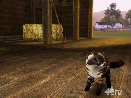 Кот Круасан специально для Симс 3 от Кота в формате sims3pack