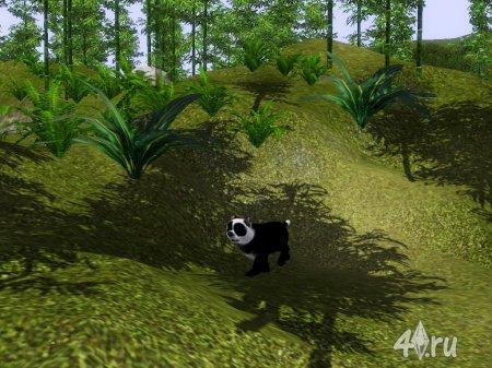 Панда-собака для симс 3 от Кота для Симс 3 в формате sims3pack