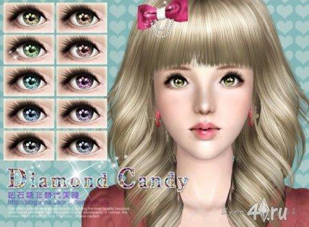 "Линзы ""Candy Eyes"" для Симс 3 в формате sims3pack"