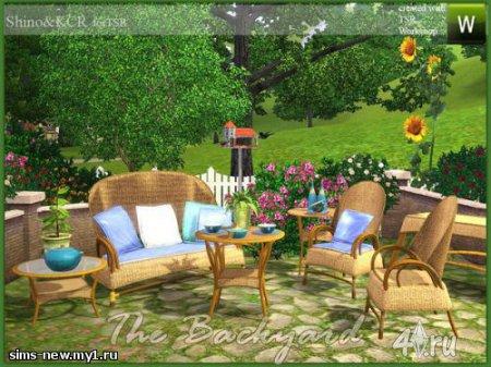 Набор для Патио от Shino для Симс 3 в формате sims3pack
