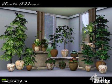 Сет 18 растений для Симс 3