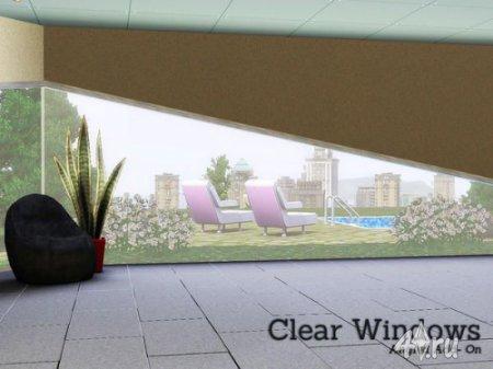 Необычное окно для Симс 3 в формате sims3pack