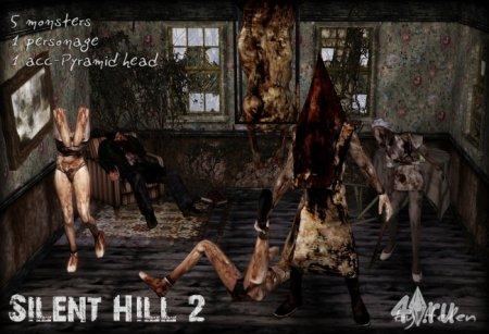 Набор из Silent Hill для Симс 3 от Helen