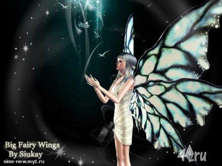 Крылья демона для Симс 3