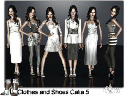 Одежда и обувь от Jomsims для Симс 3 в формате sims3pack