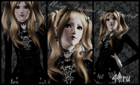 Amane Misa by mur.nast from Sims 3