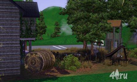 Заброшенный дом семьи Готт (Дом с привидениями) для Симс 3  от anaconda в формате sims3pack