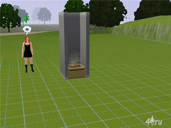 Как сделать потолок в sims 4