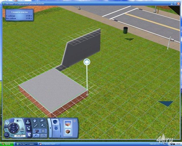 Как сделать подвал с фундаментом в симс 3