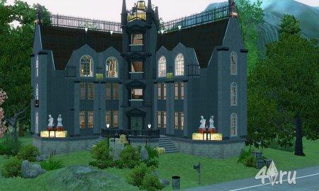 "Дом вампира ""Фантом"" для симс 3 от anaconda в формате sims3pack"