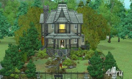 (Авторская работа) Заброшенный дом для Симс 3 от anaconda в формате sims3pack