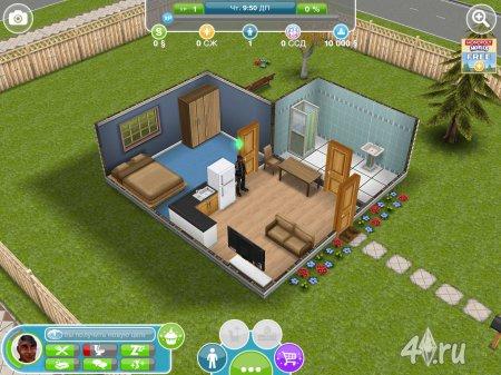 Краткий обзор с изображениями игры The Sims FreePlay для iPad от DanielBekhter