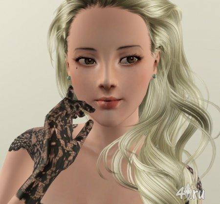 Симка Хелена от Грелль для Симс 3