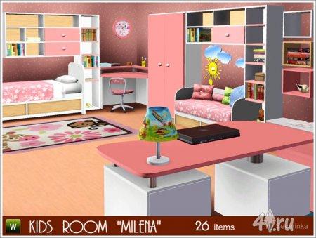"""Детская комната """"Милена"""" от Severinka для Симс 3 в формате sims3pack"""