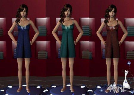 Платье от Little Кitten для Симс 2