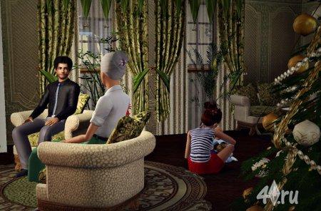 «Рождество в The Sims». ГОЛОСОВАНИЕ.