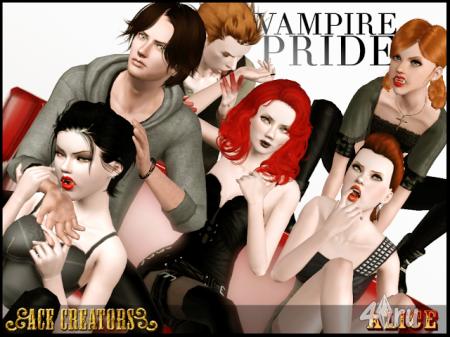 Позы для вампиров от Alice для Симс 3 в формате package
