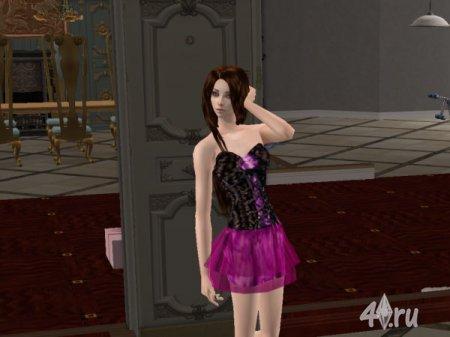Платье от Pus для Симс 2