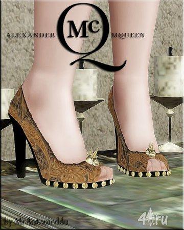 Туфли McQueen от MrAntonieddu для Симс 3 в формате sims3pack