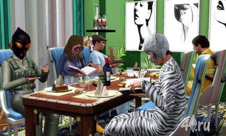 Работа на конкурс «Рождество в The Sims». Участник №4.