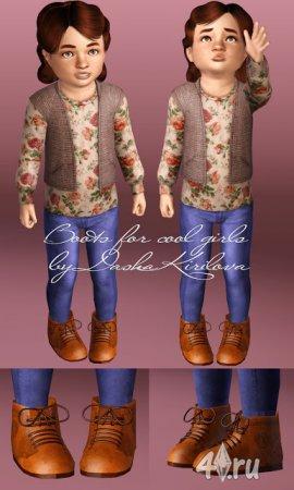 Детская обувь от Dasha Kirilova для Симс 3