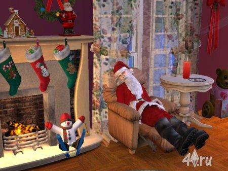 Работа на конкурс «Рождество в The Sims». Участник №5.