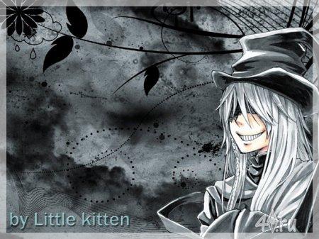"""(Авторская работа) Сет постеров """"Темный дворецкий"""" часть 4 """"Гробовщик"""" от Little kitten для Симс 2"""