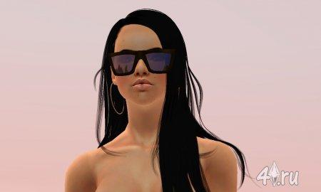 Симка Лисбет Саландер (Lisbeth Solander) для Симс 3 в формате sims3pack