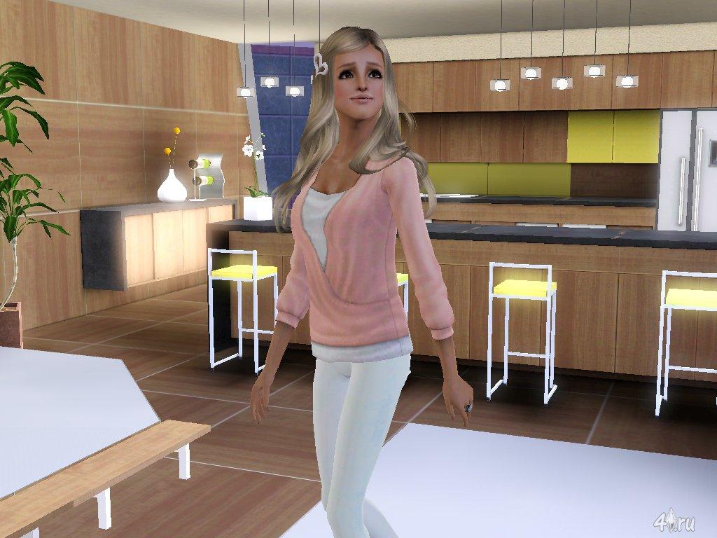 Симка Бритни Спирс (Britney Spears) для Sims 3 в формате ... бритни спирс скачать