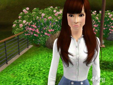 Симка Натали Портман (Natali Portmans) для Sims3