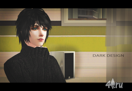 (Авторская работа) Сим Takahisa Yagami от Shadow (он же Тень) для Sims 2