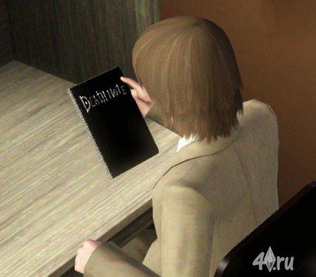 Функциональная Тетрадь Смерти для Симс 3 от Desecrate