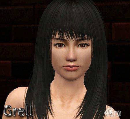 Кано Юкито от Грелль для Симс 3