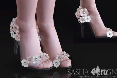 Платья,туфли и аксессуары для Симс 3 в формате package
