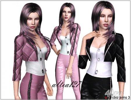 Строгий костюм от Lorandia для Симс 3 в формате sims3pack