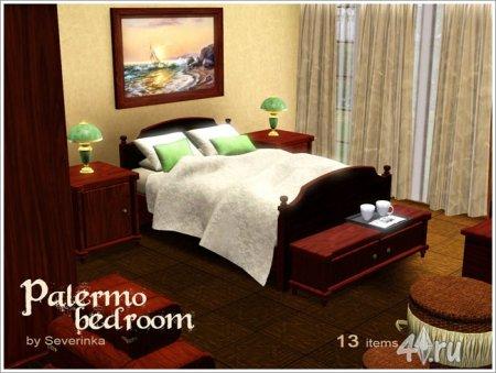 "Спальня ""Палермо"" от Severinka для Симс 3 в формате sims3pack"