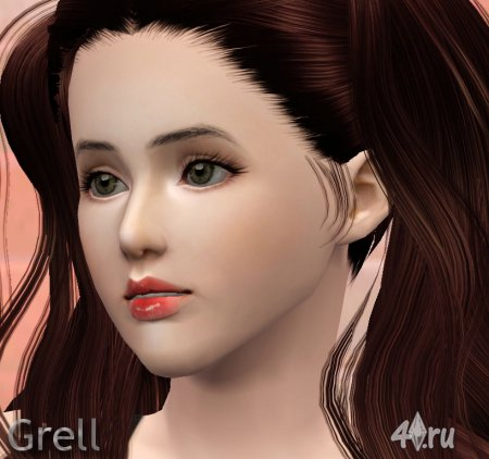 Рахель Филдс от Грелль (sims3)