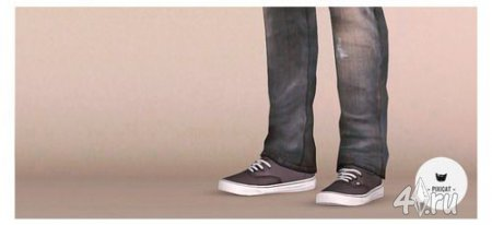 Мужские кроссовки для мужчин от pixicat в Симс 3