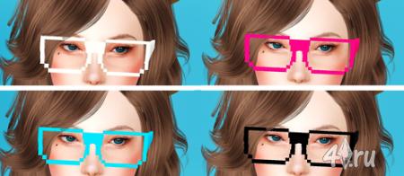 """Очки """"Пиксель"""" от simaniacos для игры Симс 3"""