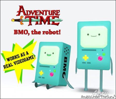 Робот BMO из Adventure Time декор и видео игра от Anubis для Симс 3 в форма ...