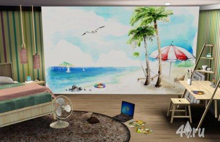Фотообои  создающие настроение (часть 1) от maDama для Симс 3 в формате sims3pack