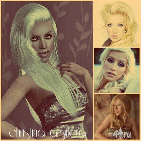 Симка Christina Agilera (Кристина Агилера) для Симс 3