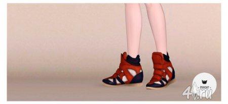 Кросовки от Isabel Marant для Sims 3